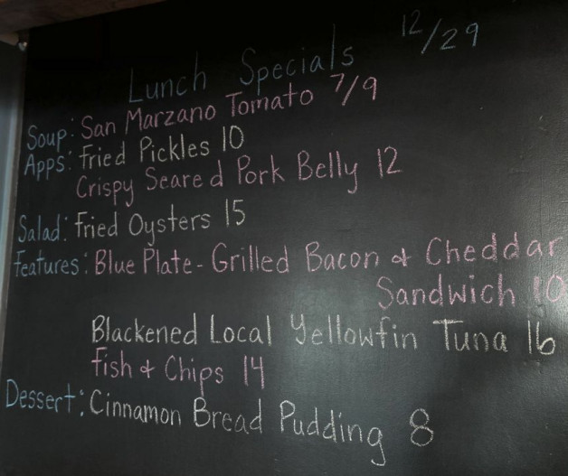 Lunch Specials 12/29