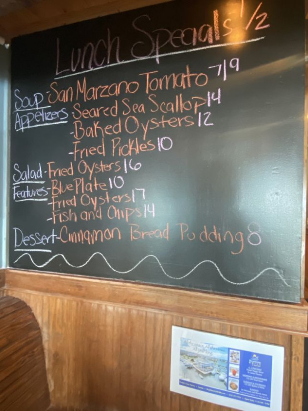 Lunch Specials 1/2