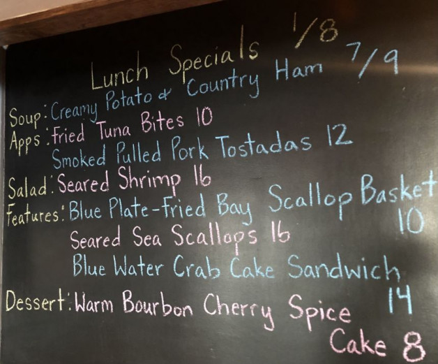 Lunch Specials 1/8