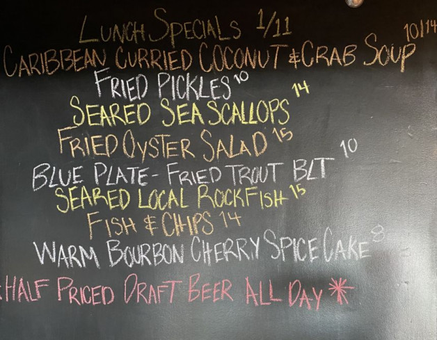 Lunch Specials Jan. 11th