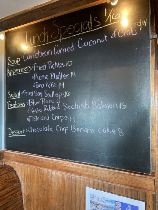 Lunch Specials 1/16