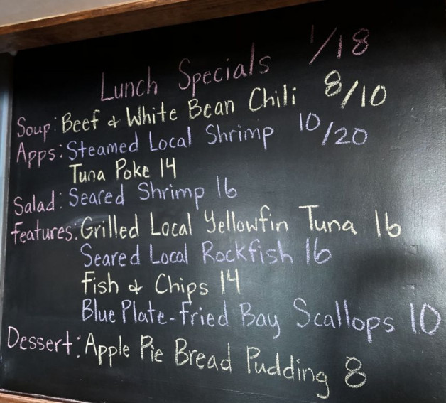 Lunch Specials 1/18