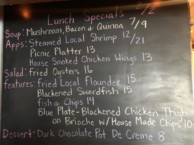 Lunch Specials 2/2