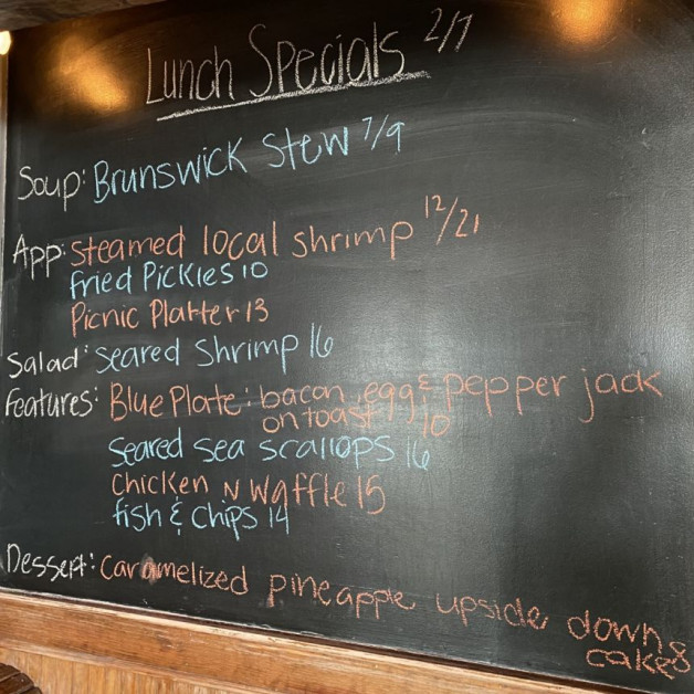 Lunch Specials 2/7