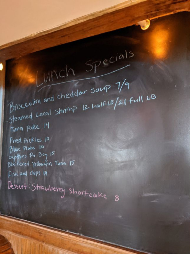 Lunch Specials 2/12