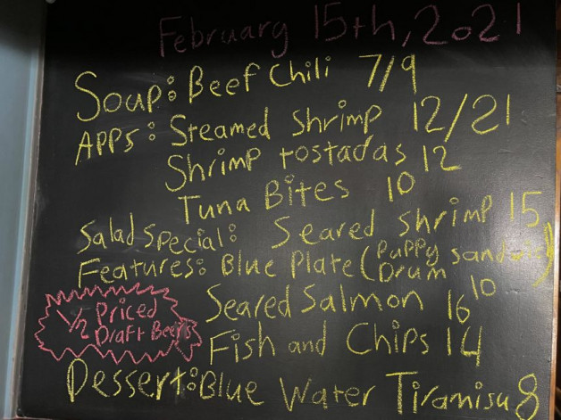 Lunch Specials 02/15/2021