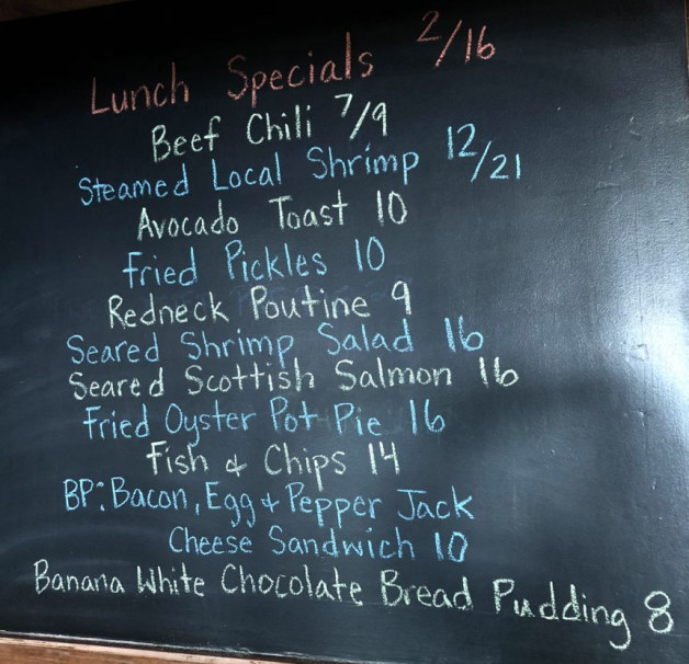 Lunch Specials 2/16