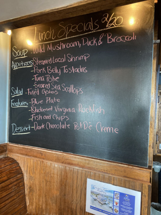 Lunch Specials 2/20