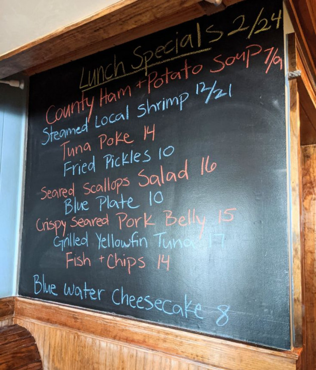 Lunch Specials 2/24