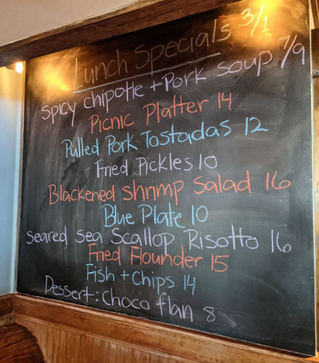 Lunch Specials 3/1
