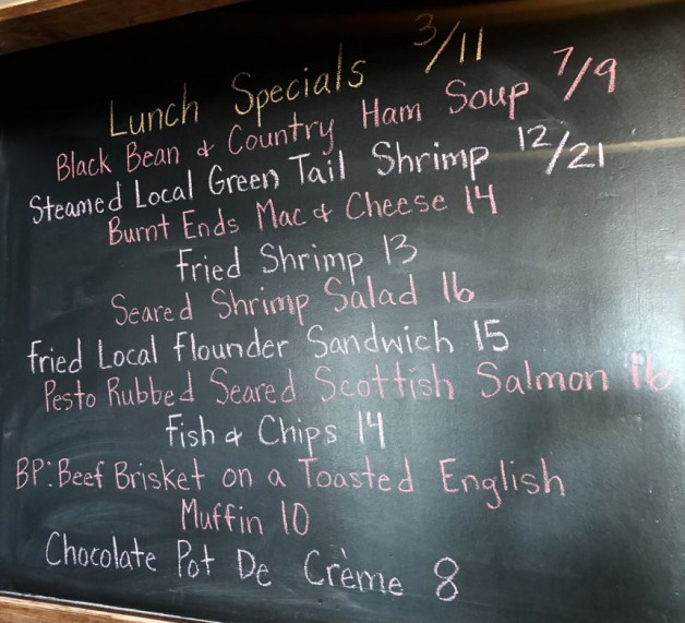 Lunch Specials 3/11
