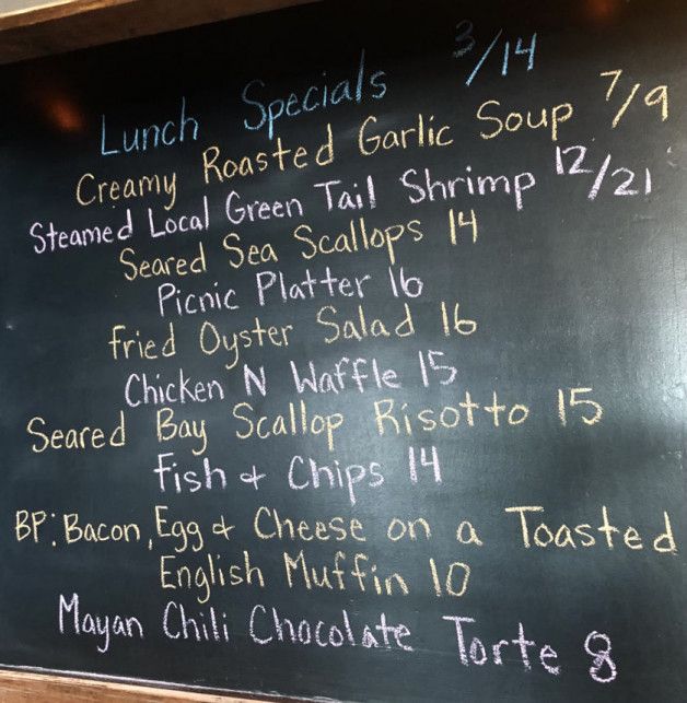 Lunch Specials 3/14