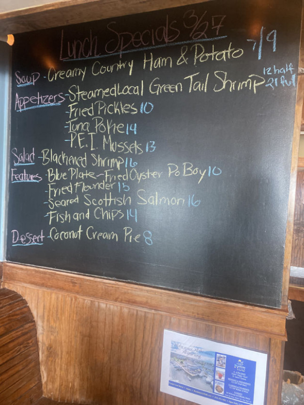 Lunch Specials 3/27