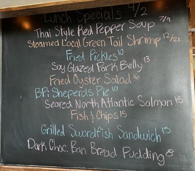 Lunch Specials 4/02