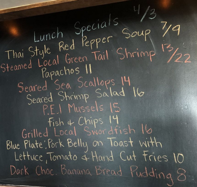 Lunch Specials 4/3