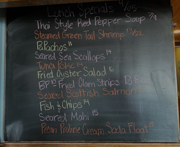 Lunch Specials 4/05
