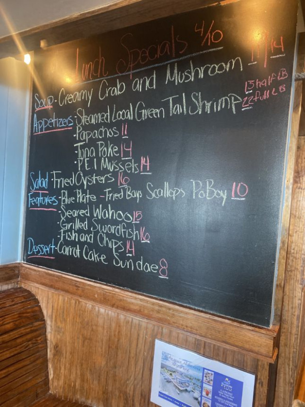 Lunch Specials 4/10