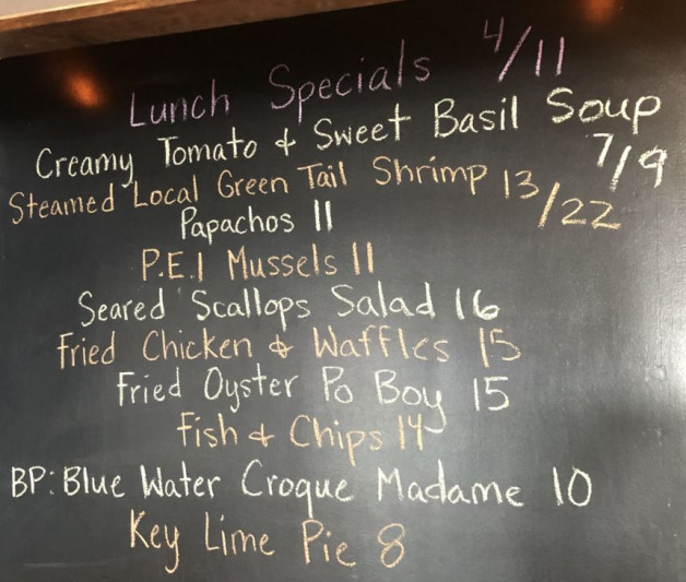 Lunch Specials 4/11