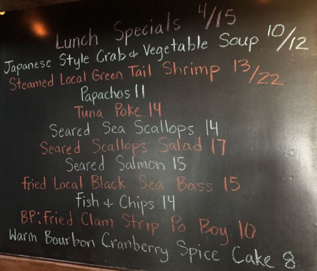 Lunch Specials 4/15