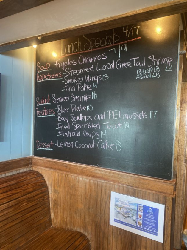 Lunch Specials 4/17