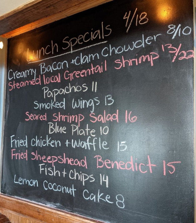 Lunch Specials 4/18