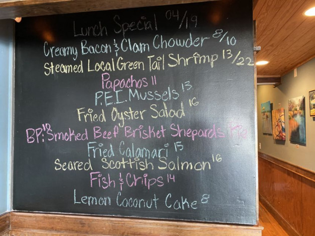 Lunch Specials 04/19/2021