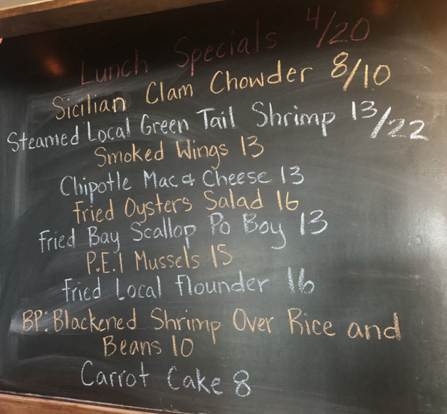 Lunch Specials 4/20