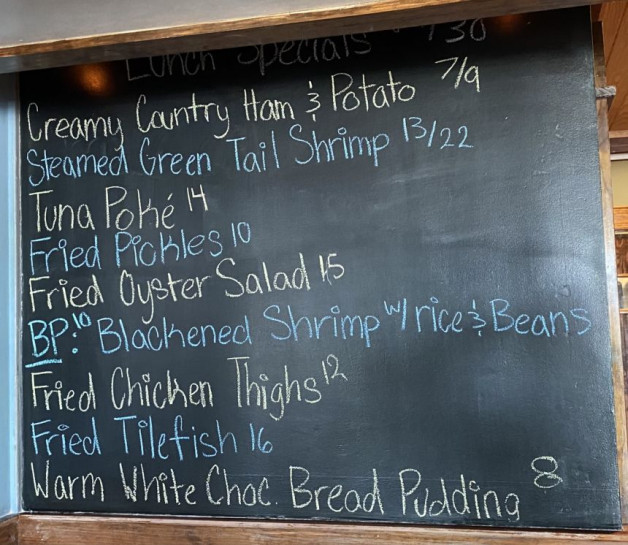 Lunch Specials 04/30