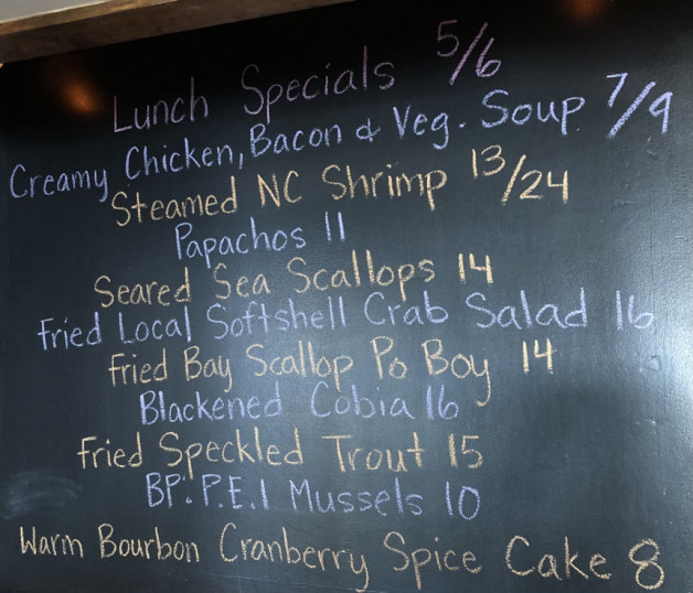 Lunch Specials 5/6
