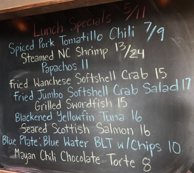 Lunch Specials 5/11