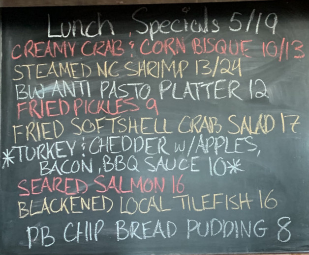 Lunch Specials 05/19