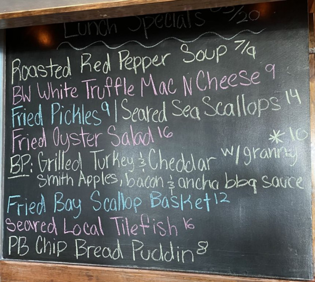 Lunch Specials 05/20