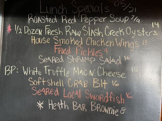 Lunch Specials 5/21/2021