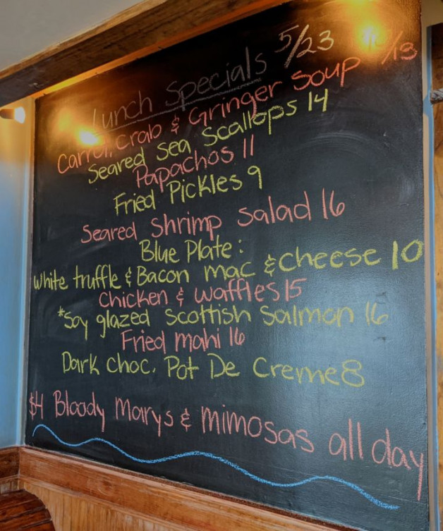 Lunch Specials 5/23
