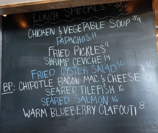 Lunch Specials 05/25