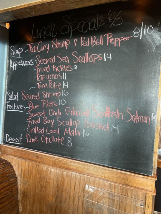 Lunch Specials 6/5