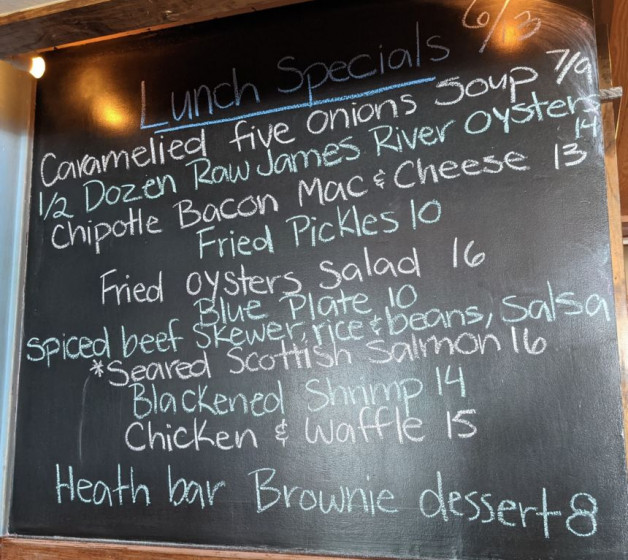 Lunch Specials 6/13