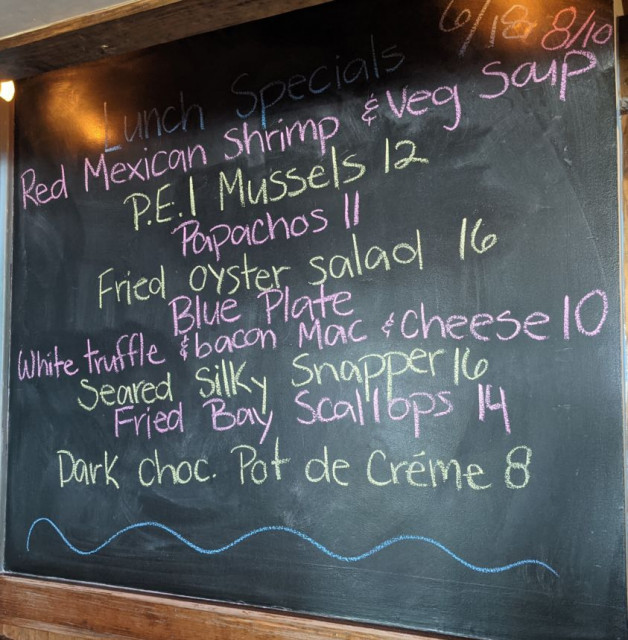 Lunch Specials 6/18