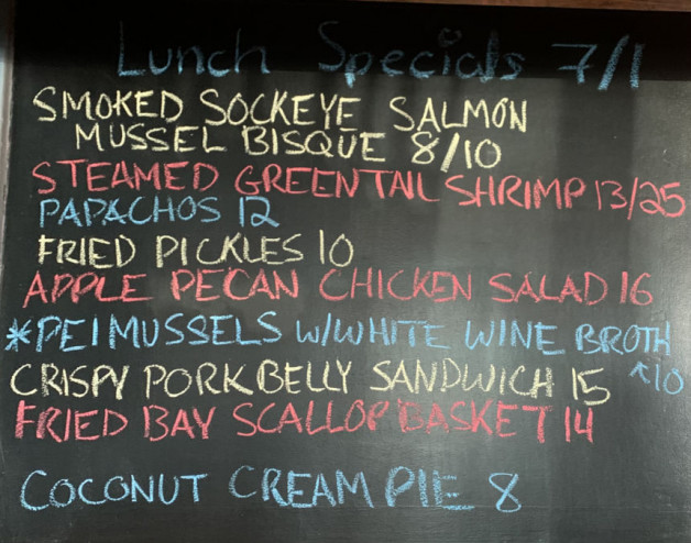 Lunch Specials 07/01