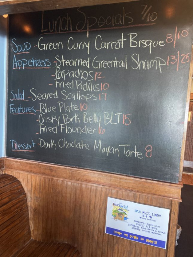 Lunch Specials 7/10