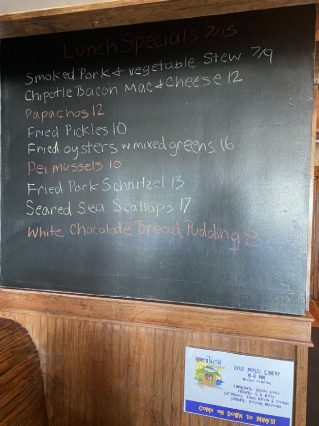 Lunch Specials 7/15
