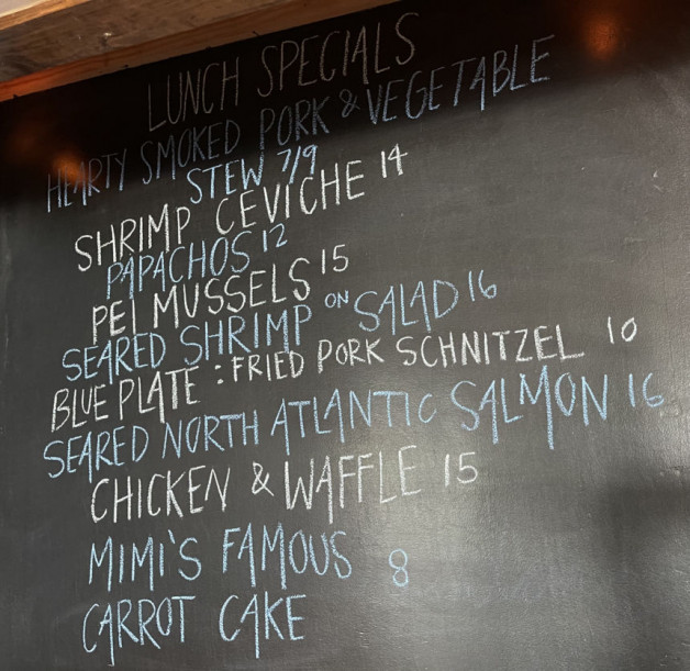 Lunch Specials 7/18