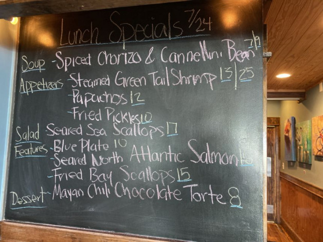 Lunch Specials 7/25