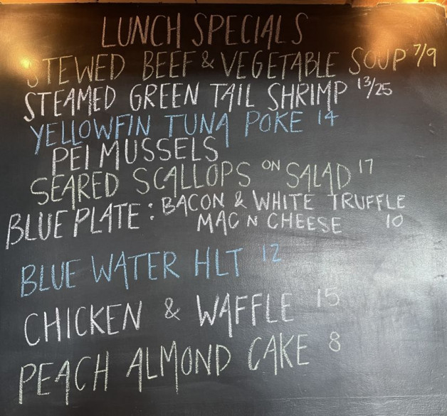 Lunch Specials 8/1