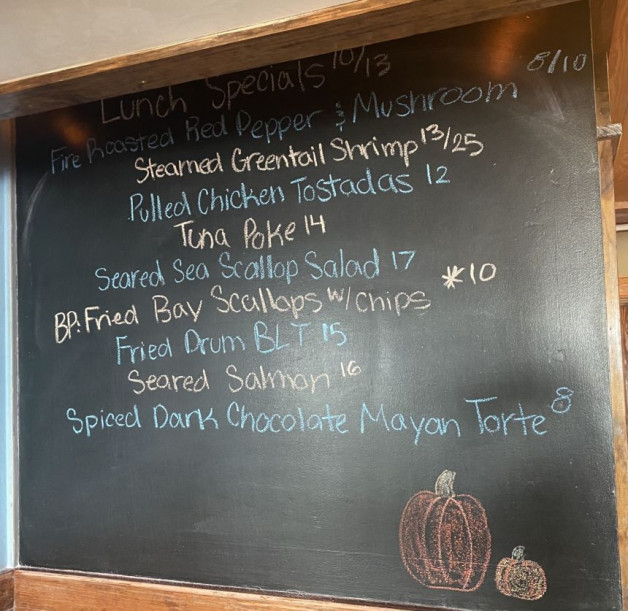 Lunch Specials 10/13